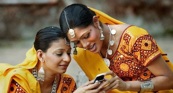 Backlot Bollywood sets at Film City, Mumbai, India