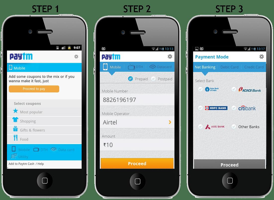 PayTM Mobile Demo