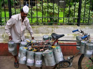 Mumbai's dabbawallas (photo: Joe Zachs)