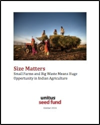 Cover for Size Matters Report