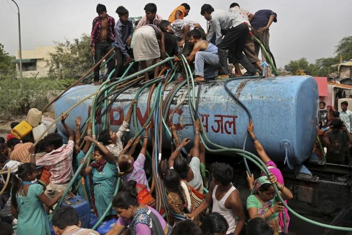 APTOPIX India Water Shortage