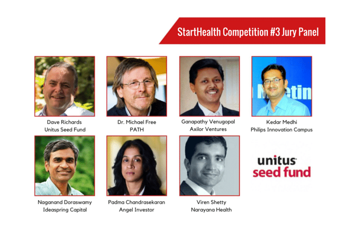 StartHealth Competition #3 Jury Panel