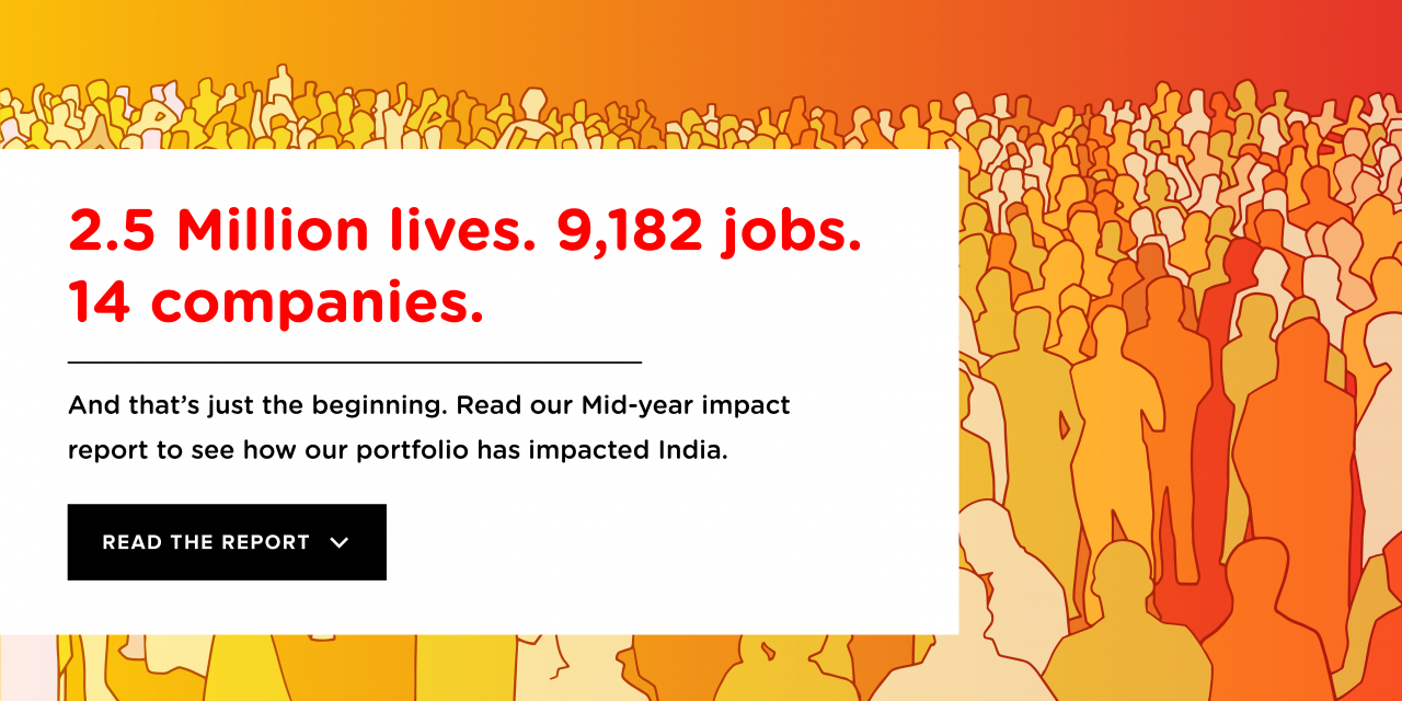 With 2 53 Mn Lives Impacted at 103% Growth, Unitus Ventures is